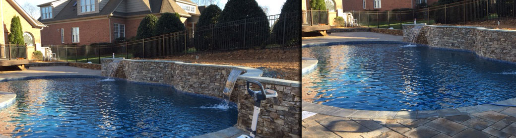 Raleigh, NC swimming pool builder