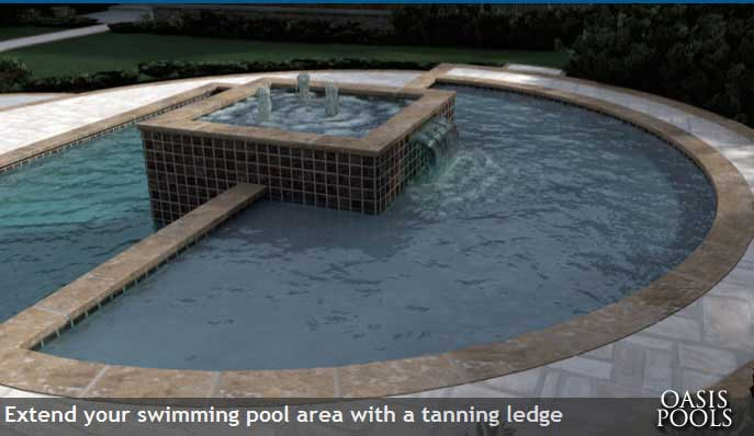 Oasis Pools Raleigh Nc Pool Builder Trilogy Pool